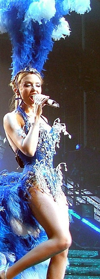 Showgirl: The Greatest Hits Tour - Minogue during the show's first act