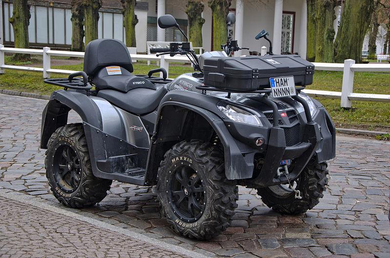 Kymco Motorroler Produzent und BMW Zulieferer 800px-Kymco_MXU_500