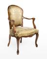 Länstol, 1700-talets mitt - Hallwylska museet - 110044.tif