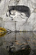 Löwendenkmal - The Lion Monument (Lucerne) 01.jpg