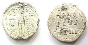 Pope Honorius III -  Papal bulla of Honorius III