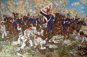 Spanish American wars of independence - The Battle of San Lorenzo in 1813