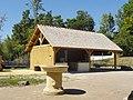 La Chaussée-Tirancourt (80), parc Samara, zone des animations et reconstitutions - atelier de taille de pierre 4.jpg