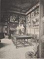 La salle de billard du château de Chèreperrine dans l'Orne à la fin du XIX e siècle.jpg