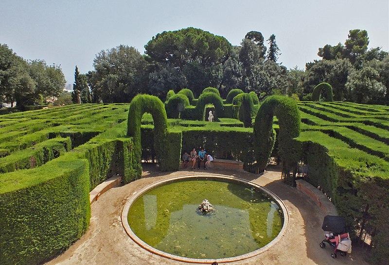 Laberint d'Horta en Barcelona