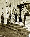 Labor Battalion Barracks, U.S. Army. Fort Jay, Governor's Island, New York Harbor (33052901216).jpg