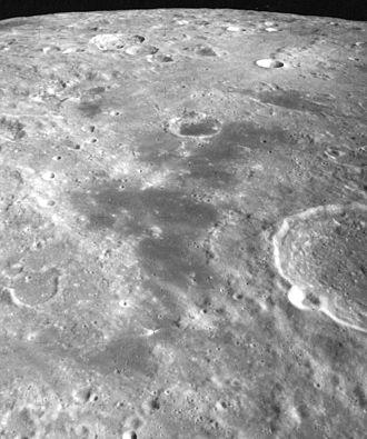Lacus Bonitatis - Oblique view from Apollo 17