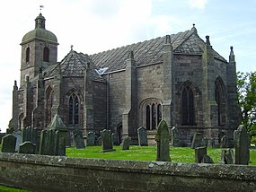 Ladykirk (church of Scotland) Church - geograph.org.uk - 662209.jpg