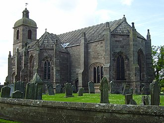 Ladykirk, Scottish Borders - Ladykirk Church, the Kirk of Steill, was built by James IV of Scotland