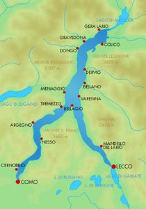 Lago Maggiore Cartina Stradale.Lago Di Como Wikipedia