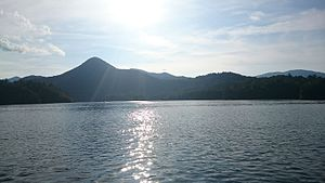Lake Santeetlah, North Carolina - Boat on Lake Santeetlah