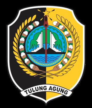 Tulungagung Regency - Image: Lambang tulungagung