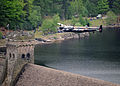 Lancaster Bomber of Battle of Britain Memorial Flight over Derwent Water MOD 45147797.jpg