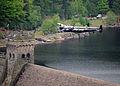 Lancaster Bomber of Battle of Britain Memorial Flight over Derwent Water MOD 45147797.jpg