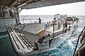 Landing craft enters USS Denver (LPD 9) (13315191674).jpg