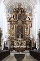 Landsberg am Lech, Stadtpfarrkirche Mariä Himmelfahrt, main altar 001.JPG