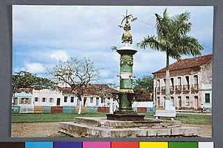 Largo de Sao Benedito, em Iguape