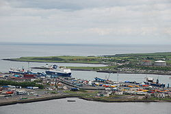 Larne Harbour from Inver