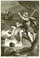 Last moments of Humphrey Gilbert, antique print c1880.jpg