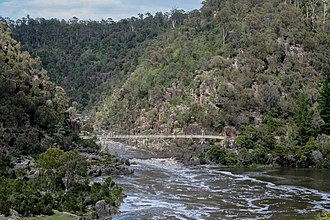 South Esk River - Image: Launceston Tasmania Australia 05