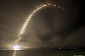 Launch of Falcon 9 carrying ASIASAT 8 (16855192031).jpg