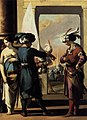 Laurent de La Hyre - Cyrus Announcing to Araspas that Panthea Has Obtained His Pardon - WGA12316.jpg