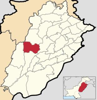 Layyah District District in Punjab, Pakistan