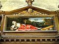 Le Bellay-en-Vexin (95), église Sainte-Marie-Madeleine, maître-autel, tableau de retable - La Madeleine au désert.JPG