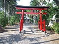 Le Temple Shintô Futagawa-hachiman-jinja - Le torii rouge.jpg