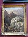 Le couvent de Sainte-Catherine au mont Sinai (Louvre, INV 3689).jpg