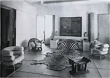 Le Salon De Verre (Glass Salon) Designed By Paul Ruaud With Furniture By Eileen  Gray, For Madame Mathieu Levy (Juliette Lévy) Milliner Of The Boutique J.  ...