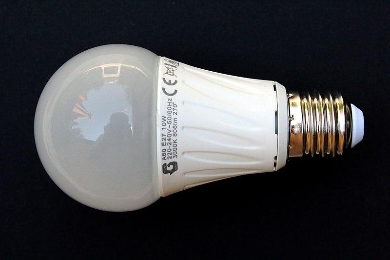 File Led Lampa Jpg Wikimedia Commons