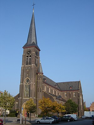Ledeberg - Church of Saint Livinus in Ledeberg.
