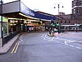 Leeds Railway Station entrance - bus interchange - geograph.org.uk - 501232.jpg