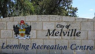 Leeming, Western Australia - Image: Leeming recreation centre SMC 2006