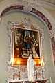 Leonardo Malatesta, Madonna col Bambino tra i santi Pietro, Sebastiano, Cosma, Silvestro e Giovannino, 1518, 01.jpg