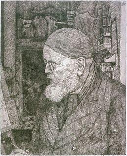 Leopold Graf von Kalckreuth German artist