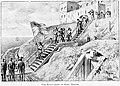Les Anglais évacuant le Fort Nelson en 1697 dans la baie d'Hudson.jpg