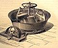 """Les merveilles de l'industrie, 1873 """"Pétrin Deliry muni ses poulies de commande pour recevoir la courroie d'un moteur quelconque"""". (4305552689).jpg"""