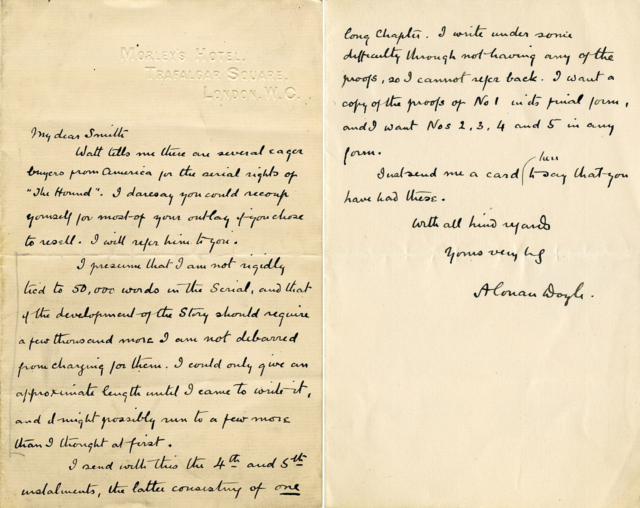 Fileletter from arthur conan doyle to herbert greenhough smithg fileletter from arthur conan doyle to herbert greenhough smithg spiritdancerdesigns