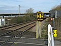Level crossing, Bridgwater - geograph.org.uk - 1193247.jpg