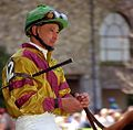 "Lexington Kentucky - Keeneland Jockey ""Mike Smith"" (2144401029) (2).jpg"