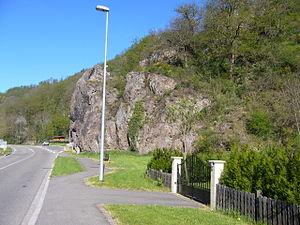 Lièpvre - Rocher du Violons near Liepvre