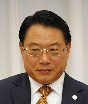 Li Yong (politician) - Image: Li Yong Vienna April 2016 (26684006816) (cropped)