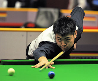 Liang Wenbo - Liang Wenbo at the 2014 German Masters