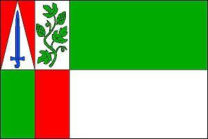 Liběšice (Louny District) - Image: Liběšice vlajka