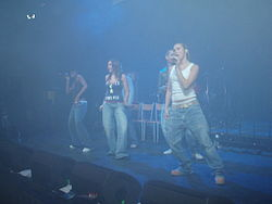 Liberty X performing Aberystwyth University May Ball in 2006