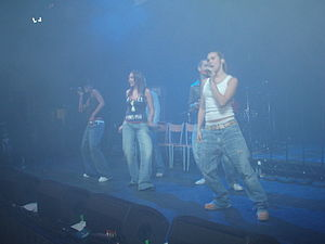 Liberty X - Liberty X performing Aberystwyth University May Ball in 2006