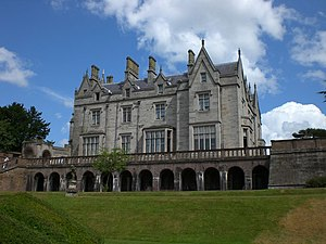 Lilleshall Hall - Lilleshall Hall viewed from the south