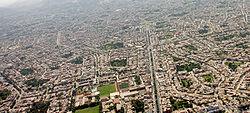 Luftaufnahme von Lima